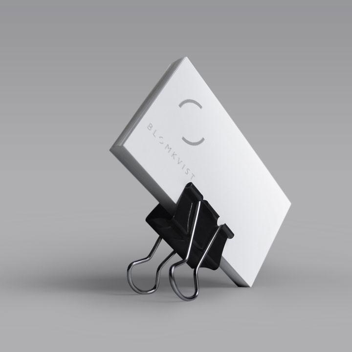 Blomkvist corporate identity