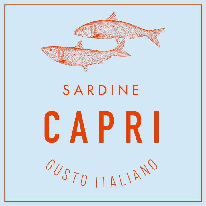 tonno capri logo sardine
