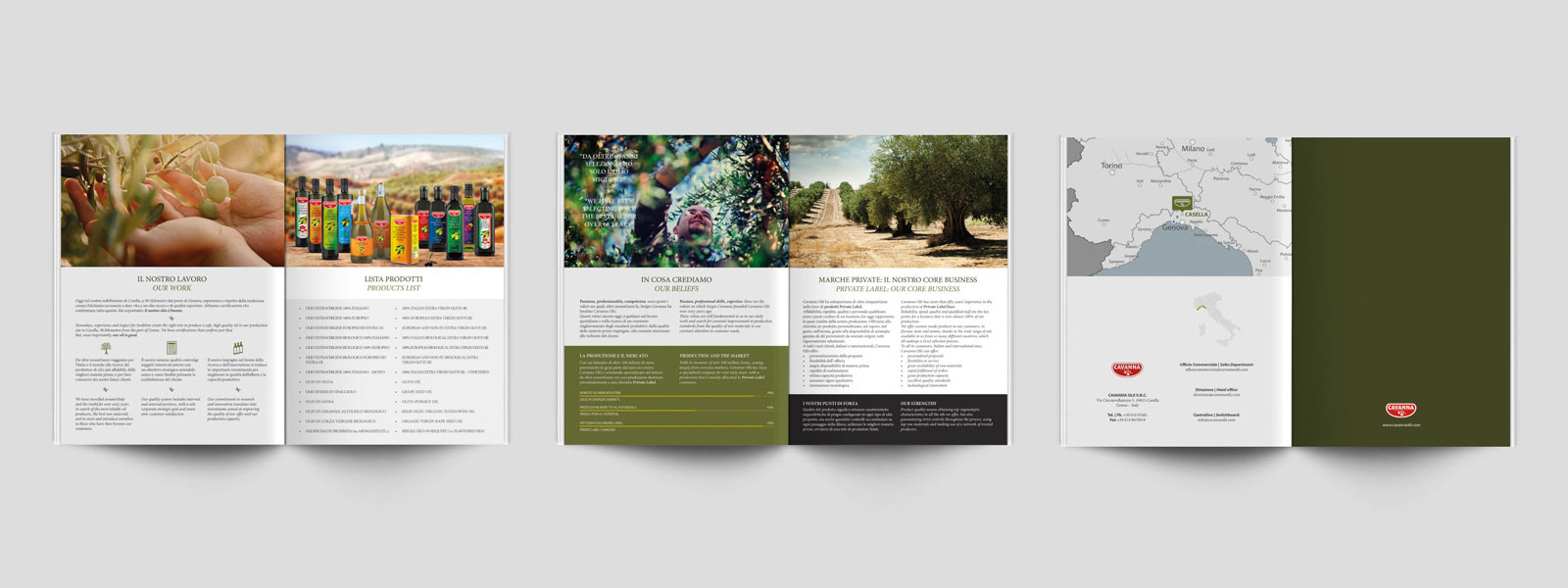 Brochure Cavanna Olii