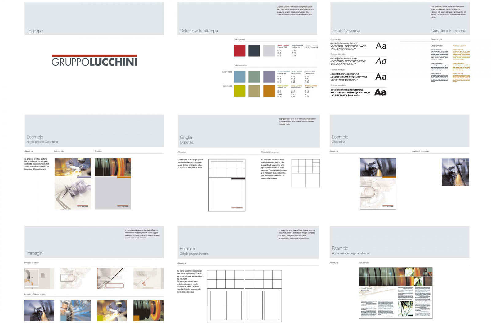 Lucchini brand manual