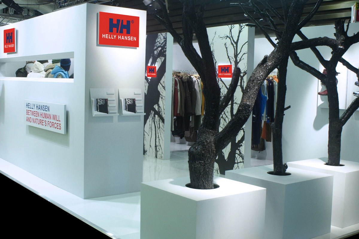 Helly Hansen stand Pitti Firenze