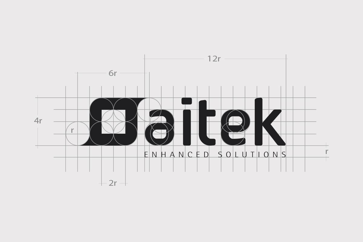 Aitek logo design