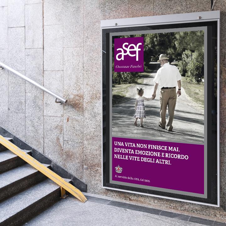 Asef pubblicita affissioni
