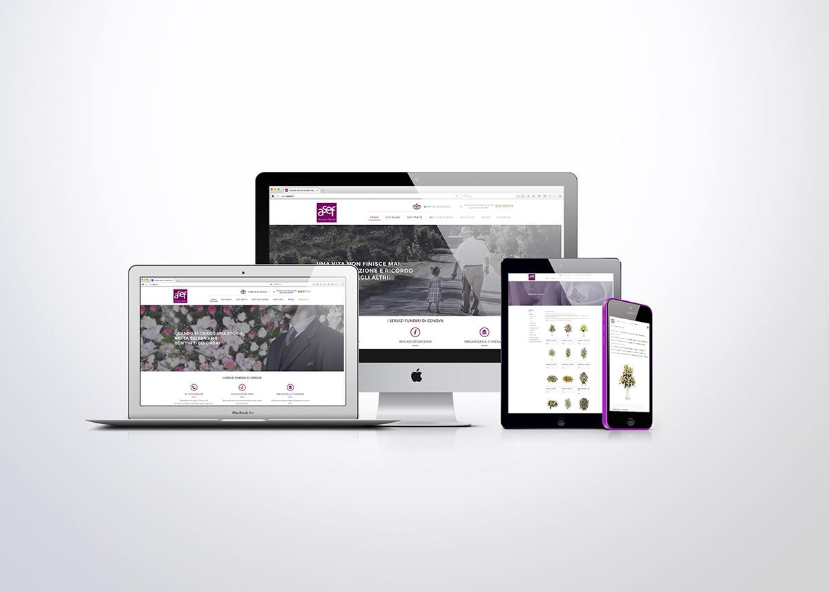 Asef sito web responsive