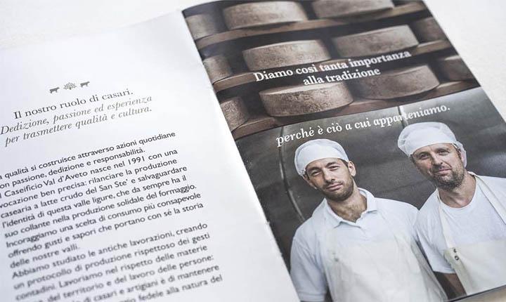 brochure Caseificio Val d'Aveto