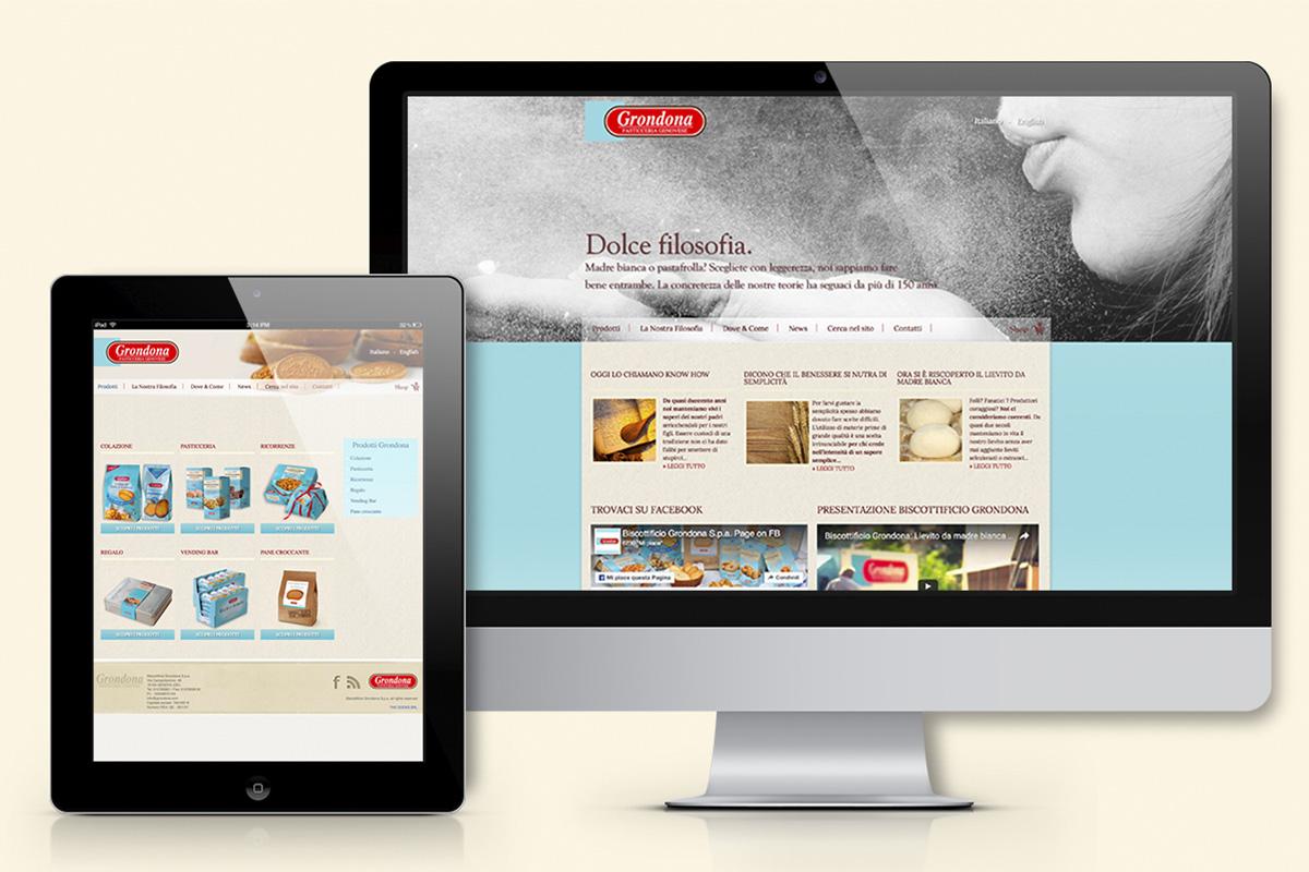 GRONDONA sito web