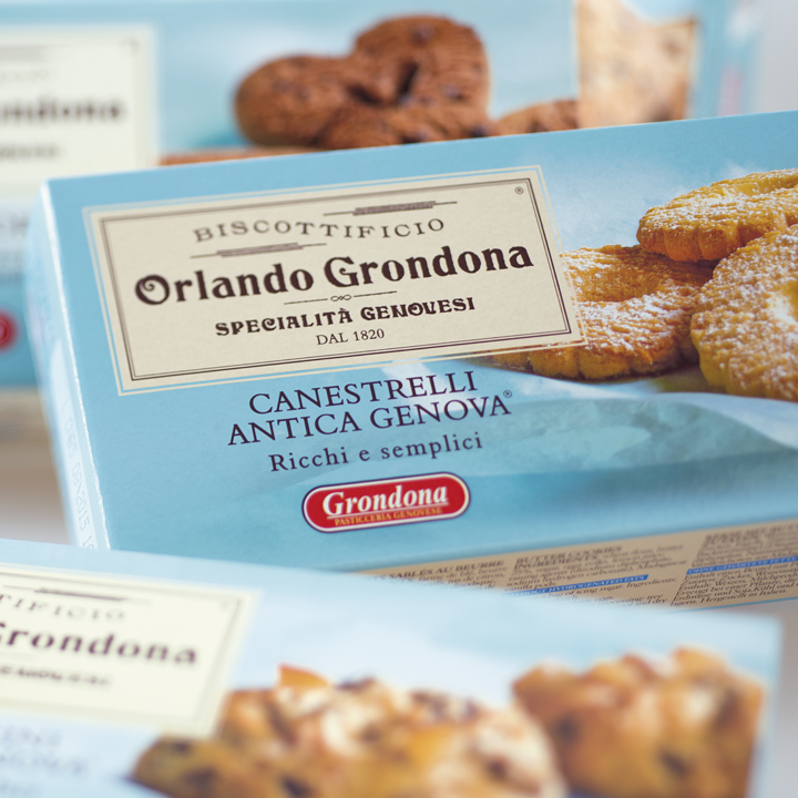 GRONDONA packagin pandolce