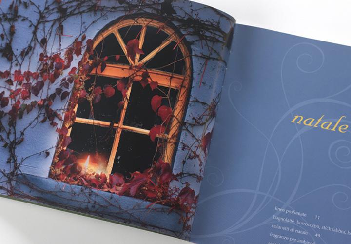 Planter's brochure design natale