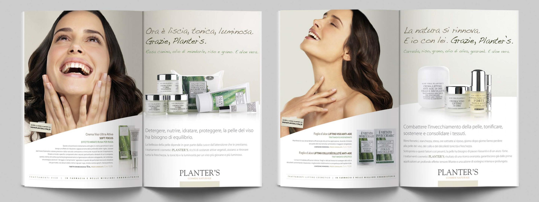 Planter's pagina pubblicitaria