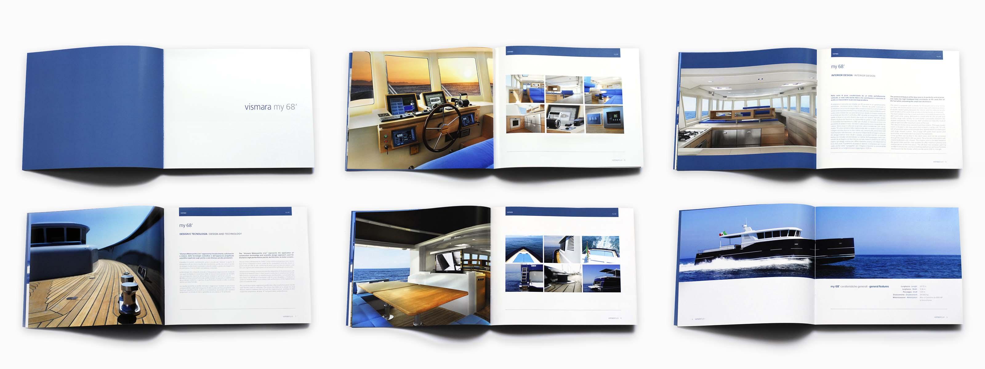 Vismara yacht brochure my68