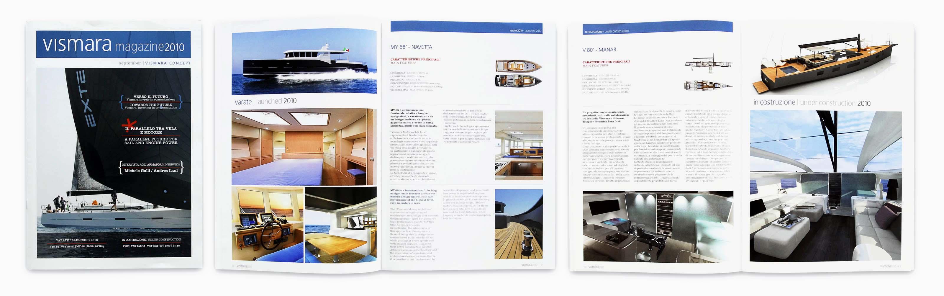 Vismara yacht magazine nautica