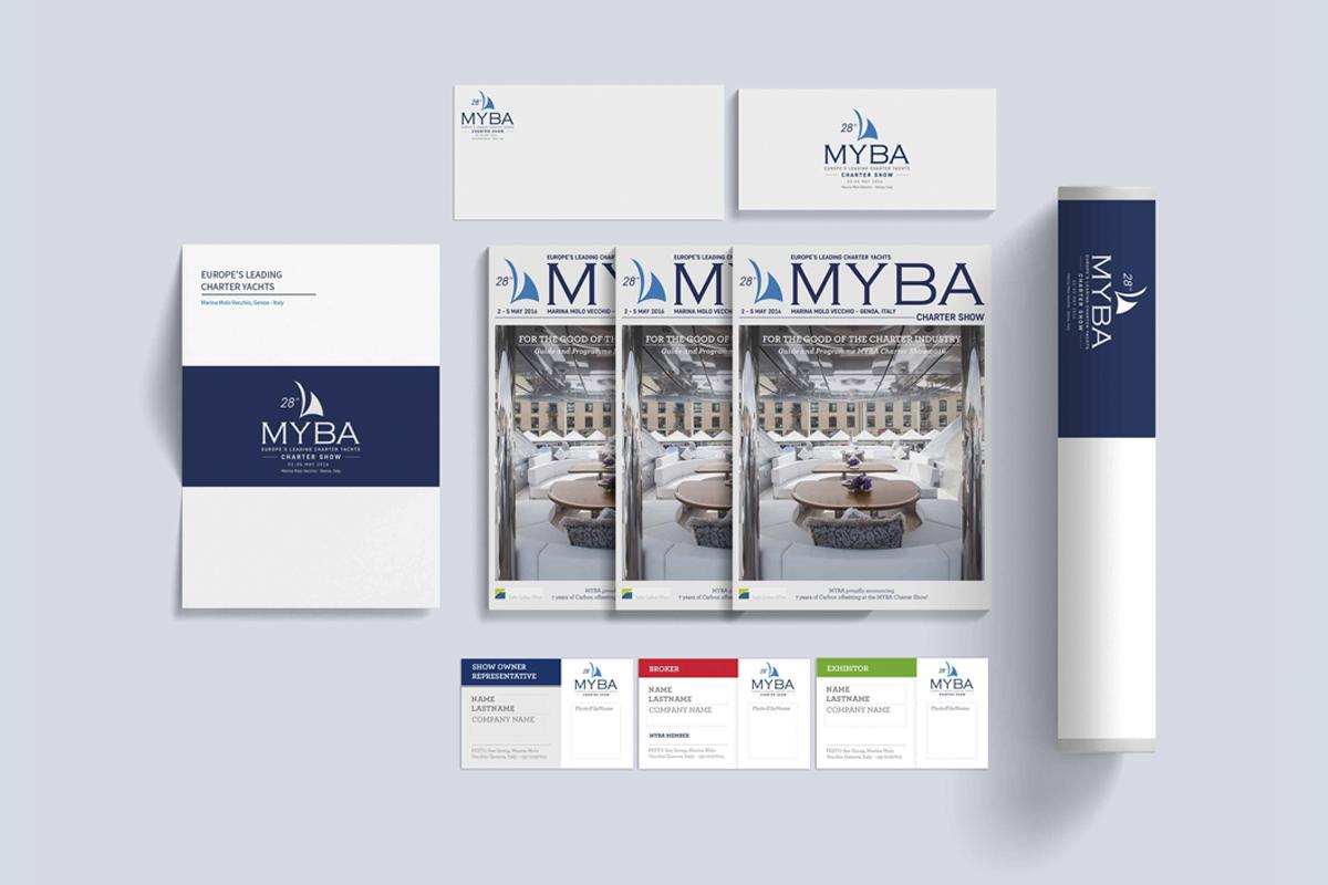 Myba identity design