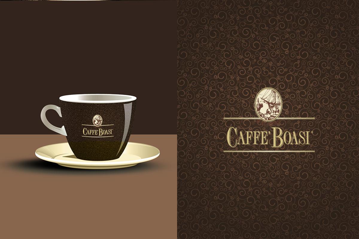 Tag caffè logo