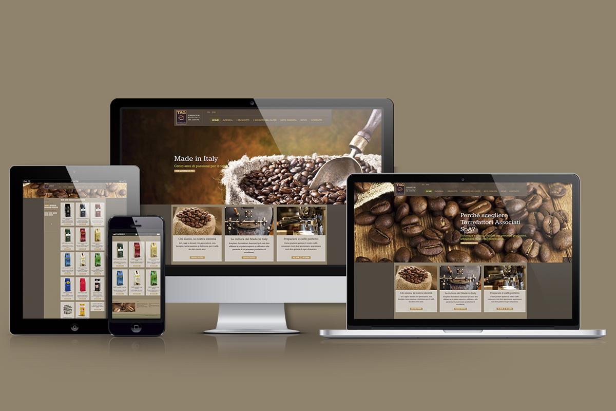 Tag caffè sito web