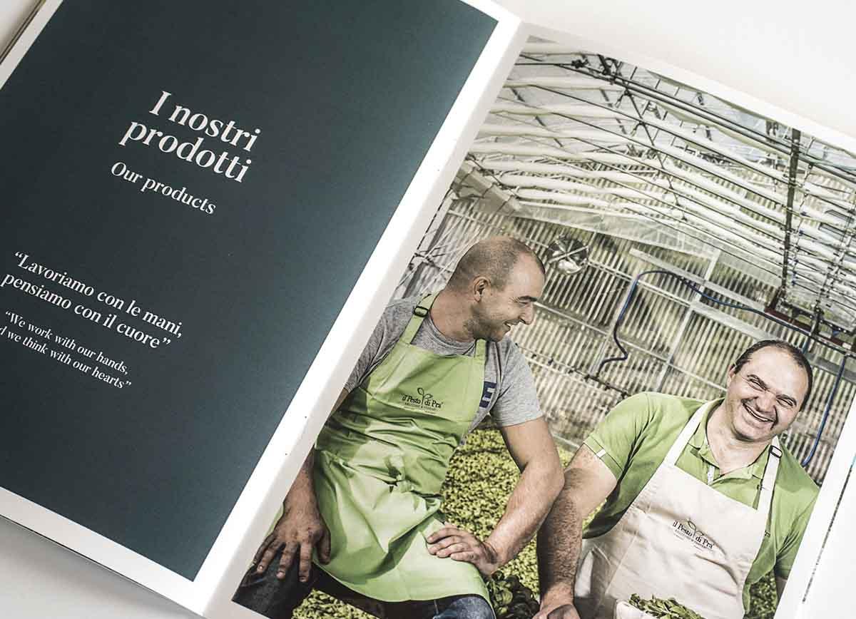 Pesto di Pra' Brochure - le persone