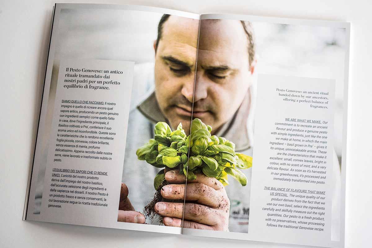 Pesto di Pra Brochure - il pesto genovese