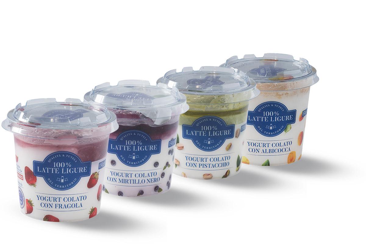 100% latte ligure yogurt