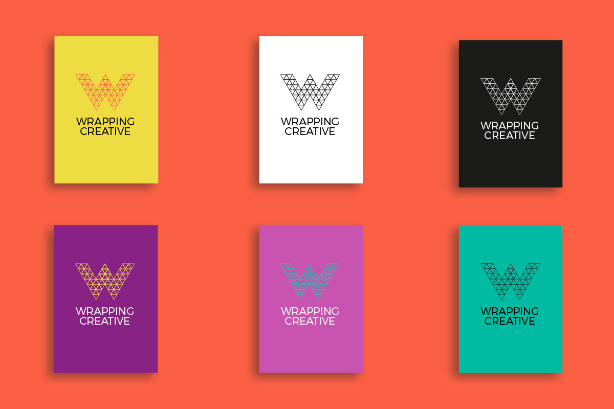 wrapping creative corporate identity